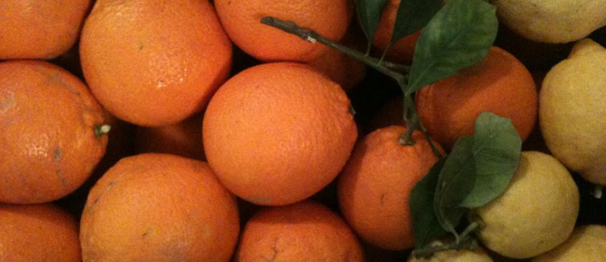 Arance Tarocco e Limoni